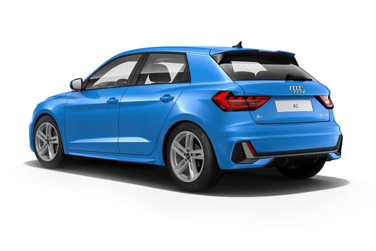Audi A1 30 Sportback 5Dr 1.0 TFSI 110PS Black Edition 5Dr S Tronic [Start Stop] [Technology] back view