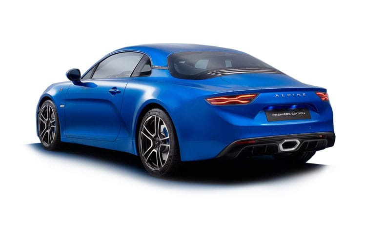 Alpine A110 Coupe 1.8 Turbo 292PS Color Edition 2Dr DCT back view