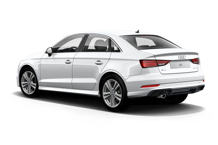 Audi A3 30 Saloon 4Dr 2.0 TDI 116PS S line 4Dr Manual [Start Stop] back view