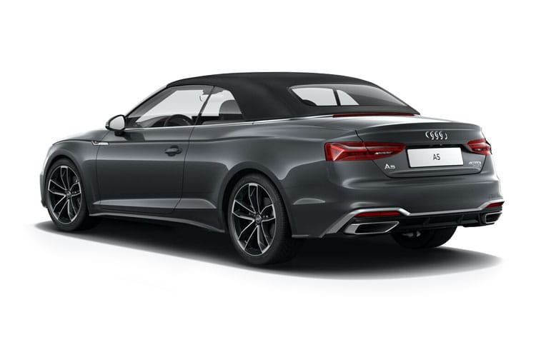 Audi A5 40 Cabriolet 2Dr 2.0 TFSI 204PS Edition 1 2Dr S Tronic [Start Stop] back view