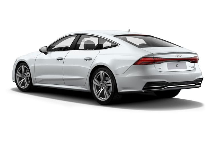 Audi A7 55 Sportback quattro 5Dr 2.0 TFSIe PHEV 14.1kWh 367PS Competition 5Dr S Tronic [Start Stop] back view