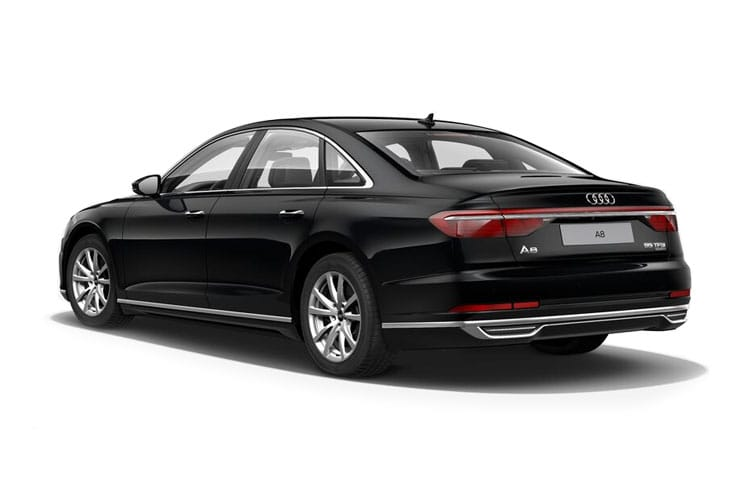 Audi A8 50 Saloon quattro 4Dr 3.0 TDI V6 286PS S line 4Dr Tiptronic [Start Stop] [Comfort Sound] back view
