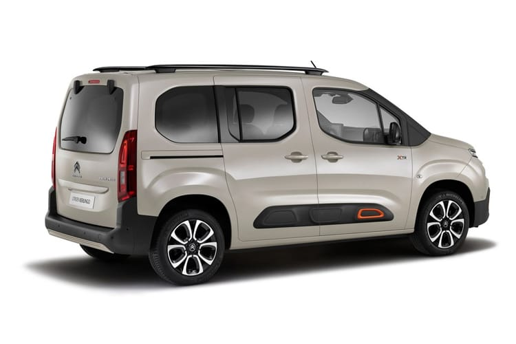 Citroen Berlingo M MPV 1.2 PureTech 130PS Flair 5Dr EAT8 [Start Stop] back view