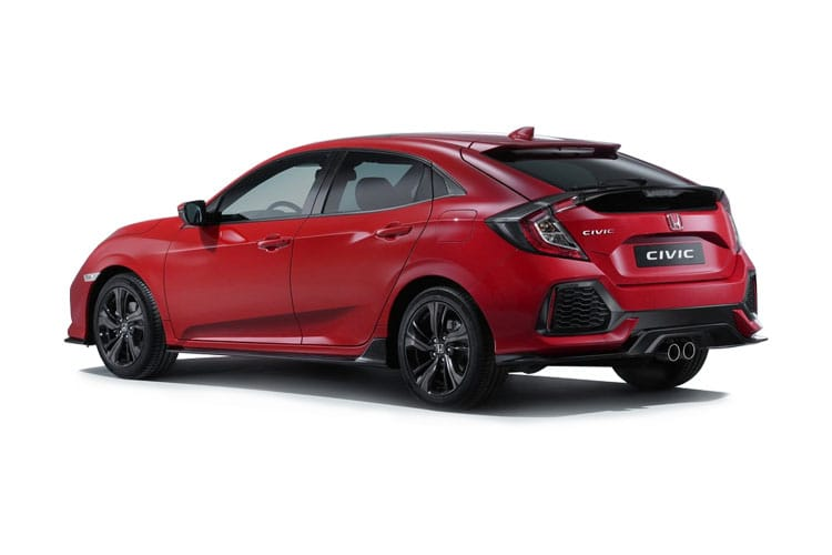 Honda Civic Hatch 5Dr 2.0 VTEC Turbo 320PS Type R Sport Line 5Dr Manual [Start Stop] back view