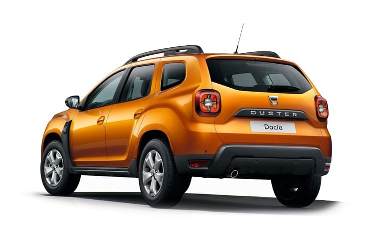 Dacia Duster SUV 2wd 1.0 TCe 90PS Access 5Dr Manual [Start Stop] back view