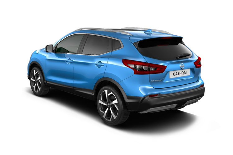 Nissan Qashqai SUV 2wd 1.3 DIG-T 160PS N-Connecta 5Dr Manual [Start Stop] [Pan Roof] back view