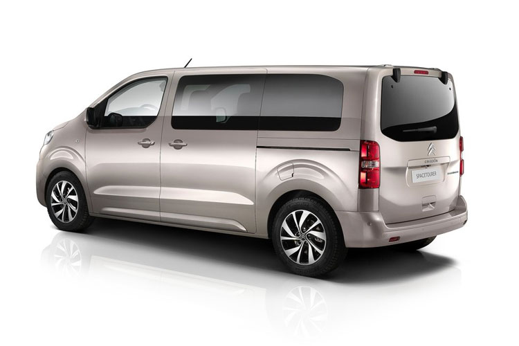 Citroen SpaceTourer M 5Dr 2.0 BlueHDi FWD 145PS Business MPV EAT [Start Stop] [9Seat] back view