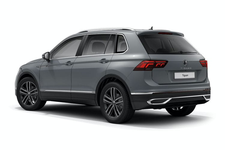 Volkswagen Tiguan SUV 4Motion SWB 2.0 TDI 200PS Elegance 5Dr DSG [Start Stop] back view