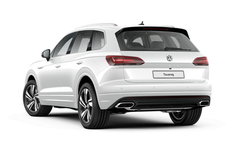 Volkswagen Touareg SUV 4Motion 3.0 V6 TDI 231PS Black Edition 5Dr Tiptronic [Start Stop] back view