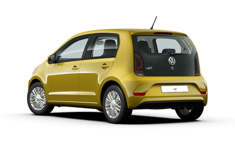 Volkswagen up! Hatch 5Dr 1.0  65PS beats 5Dr Manual [Start Stop] back view