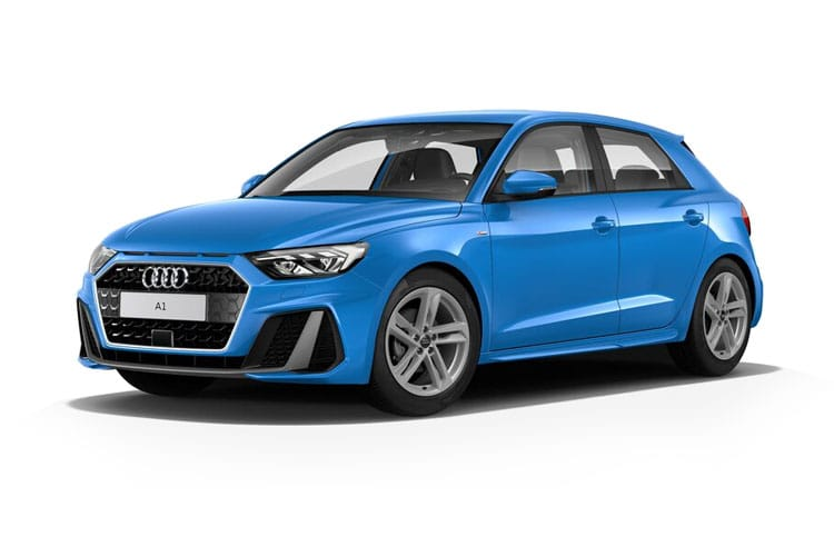 Audi A1 30 Sportback 5Dr 1.0 TFSI 110PS Black Edition 5Dr S Tronic [Start Stop] [Technology] front view