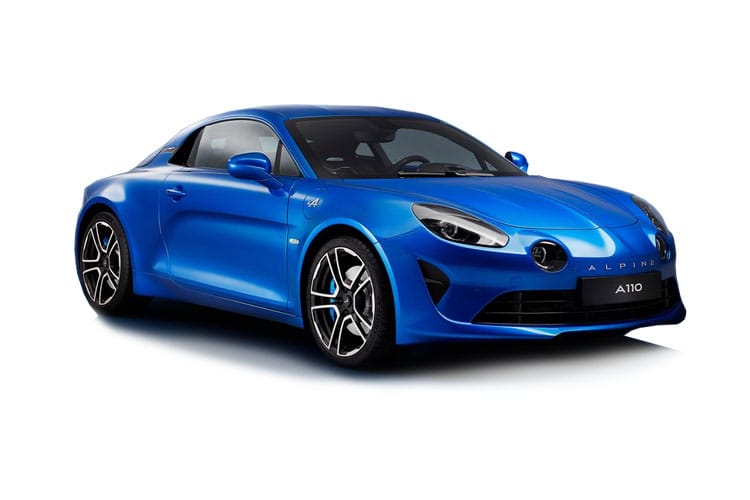 Alpine A110 Coupe 1.8 Turbo 292PS Color Edition 2Dr DCT front view