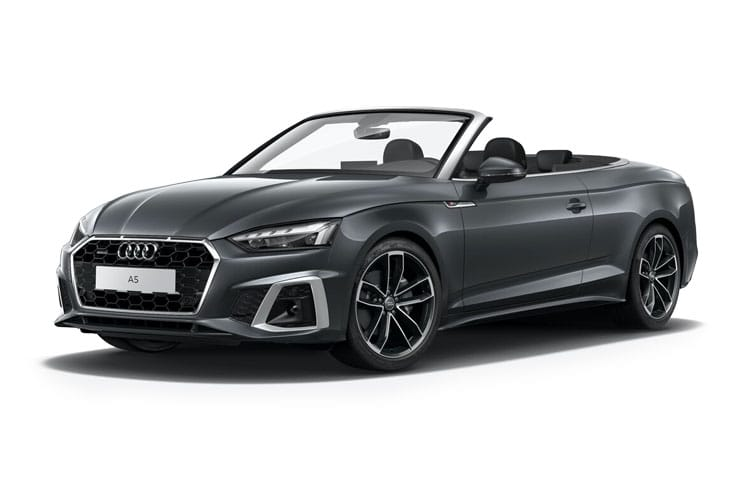 Audi A5 40 Cabriolet quattro 2Dr 2.0 TDI 190PS Edition 1 2Dr S Tronic [Start Stop] front view