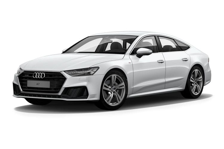 Audi A7 55 Sportback quattro 5Dr 3.0 TFSI V6 340PS Black Edition 5Dr S Tronic [Start Stop] front view