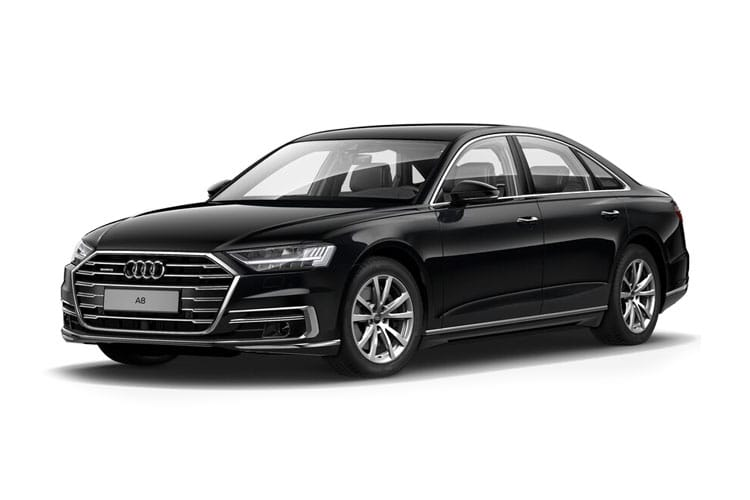 Audi A8 55 Saloon quattro LWB 4Dr 3.0 TFSI V6 340PS Black Edition 4Dr Tiptronic [Start Stop] [Comfort Sound] front view