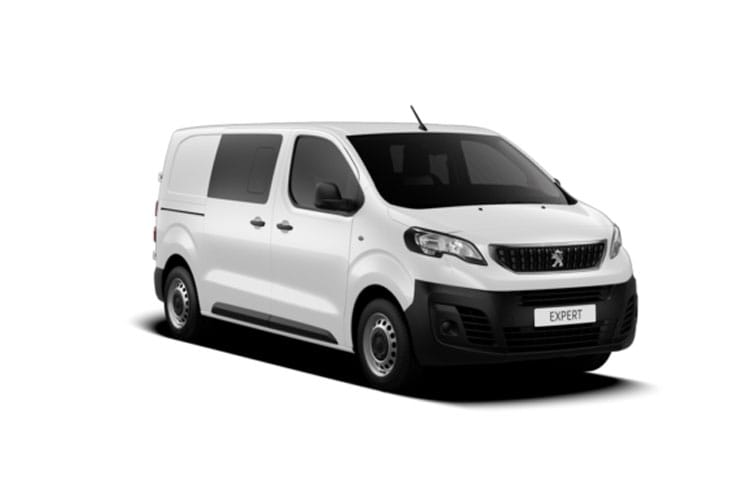 Peugeot Expert Long 1400Kg 2.0 BlueHDi FWD 120PS Professional Crew Van Manual [Start Stop] front view