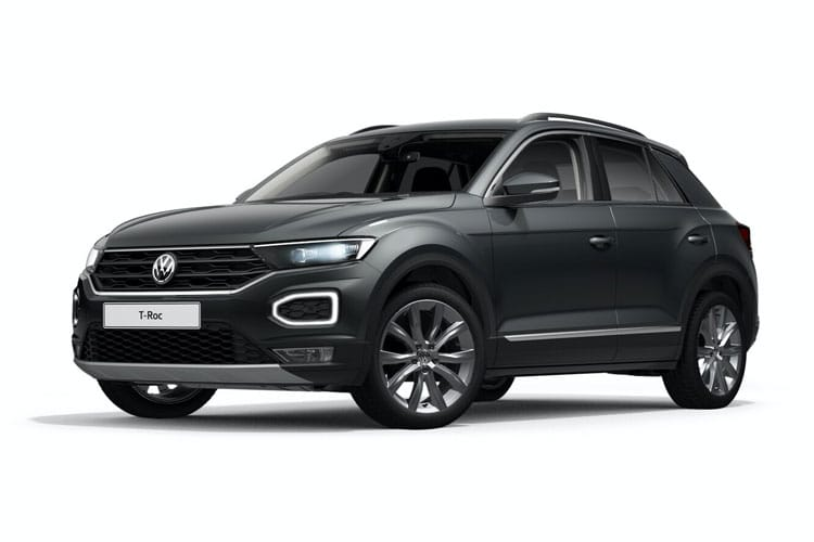Volkswagen T-Roc SUV 2wd 2.0 TDI 150PS Black Edition 5Dr Manual [Start Stop] front view