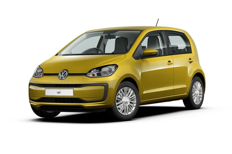Volkswagen up! Hatch 5Dr 1.0  65PS beats 5Dr Manual [Start Stop] front view