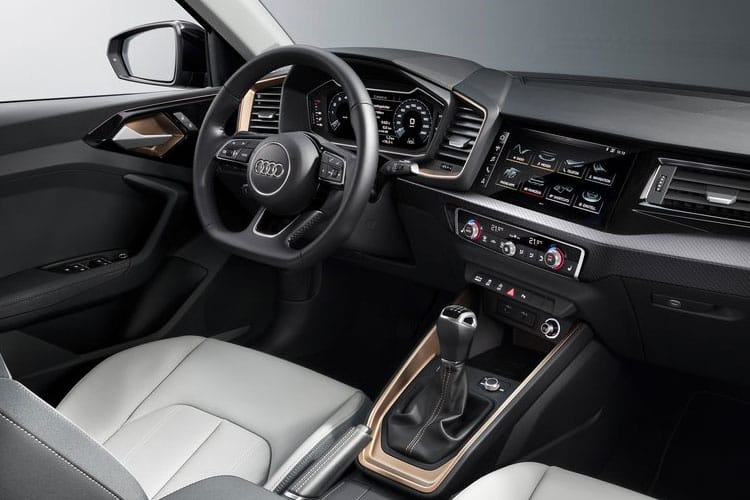 Audi A1 30 Sportback 5Dr 1.0 TFSI 110PS Black Edition 5Dr S Tronic [Start Stop] [Technology] inside view