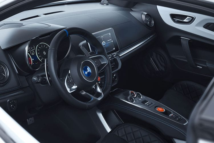 Alpine A110 Coupe 1.8 Turbo 292PS Color Edition 2Dr DCT inside view