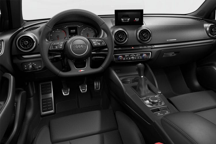 Audi A3 30 Saloon 4Dr 2.0 TDI 116PS S line 4Dr Manual [Start Stop] inside view