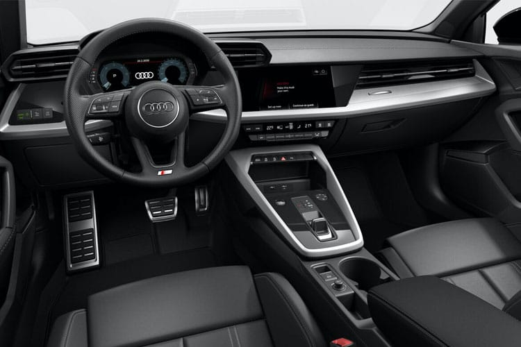 Audi A3 30 Sportback 5Dr 2.0 TDI 116PS Technik 5Dr S Tronic [Start Stop] [Comfort Sound] inside view