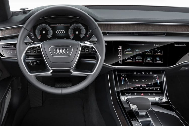 Audi A8 50 Saloon quattro 4Dr 3.0 TDI V6 286PS S line 4Dr Tiptronic [Start Stop] [Comfort Sound] inside view