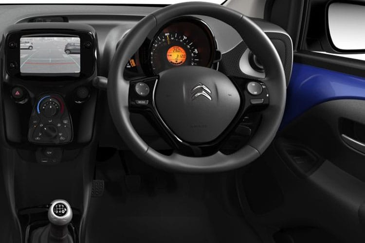 Citroen C1 Hatch 5Dr 1.0 VTi 72PS JCC+ 5Dr Manual [Start Stop] inside view