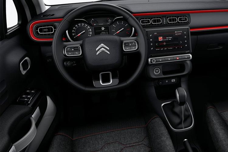 Citroen C3 Hatch 5Dr 1.5 BlueHDi 100PS Shine Plus 5Dr Manual [Start Stop] inside view