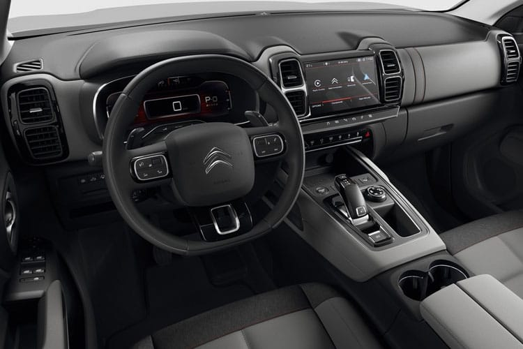 Citroen C5 Aircross SUV 1.6 PHEV 13.2kWh 225PS Shine Plus 5Dr e-EAT8 [Start Stop] inside view