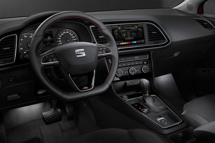 SEAT Leon Hatch 5Dr 1.5 TSI EVO 150PS FR Sport 5Dr Manual [Start Stop] inside view