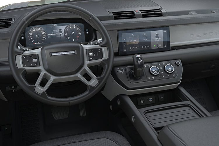 Land Rover Defender 110 SUV 5Dr 2.0 P 300PS SE 5Dr Auto [Start Stop] [Family Pack] inside view