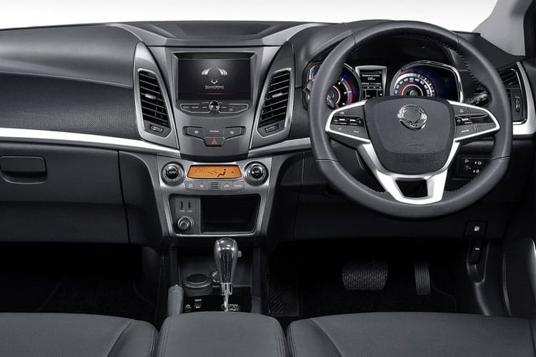 Ssangyong Korando SUV 5Dr 1.6 D 136PS Ultimate 5Dr Auto inside view