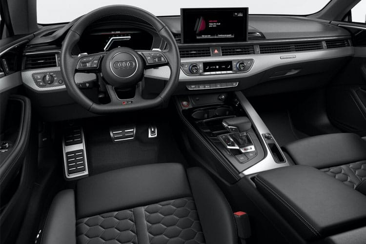 Audi A5 40 Sportback quattro 5Dr 2.0 TDI 190PS S line 5Dr S Tronic [Start Stop] inside view