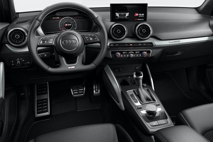 Audi Q2 35 SUV 5Dr 1.5 TFSI CoD 150PS S line 5Dr Manual [Start Stop] [Comfort Sound] inside view