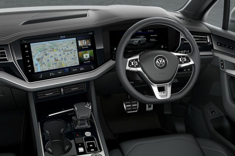 Volkswagen Touareg SUV 4Motion 3.0 V6 TDI 231PS Black Edition 5Dr Tiptronic [Start Stop] inside view