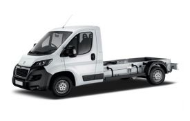 Peugeot Boxer Chassis Cab van leasing